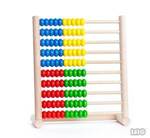 Bajo Wooden Abacus 100pc