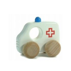 Bajo Wooden Ambulance H1 Toy