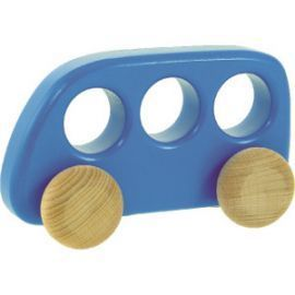 Bajo Wooden Bus - Blue