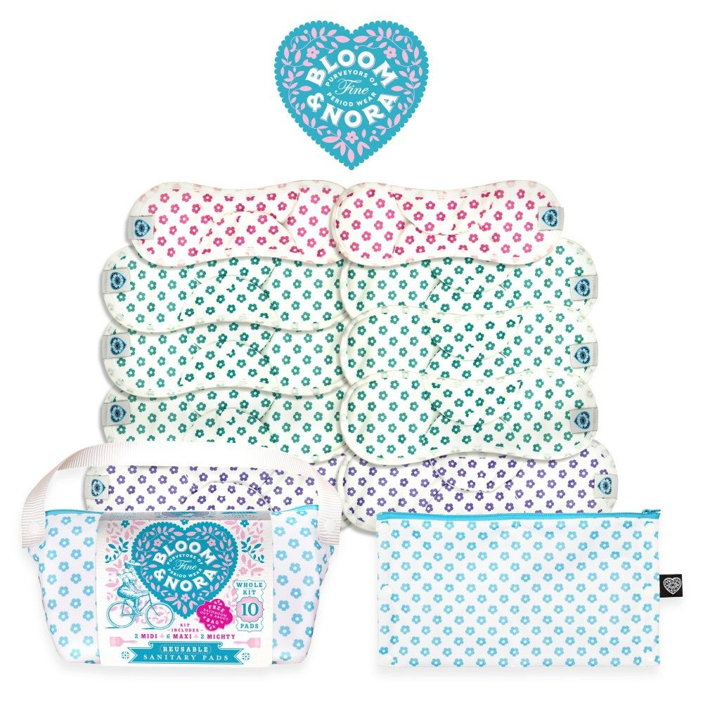 Bloom & Nora Nora Full Kit - Cloth Sanitary Pads