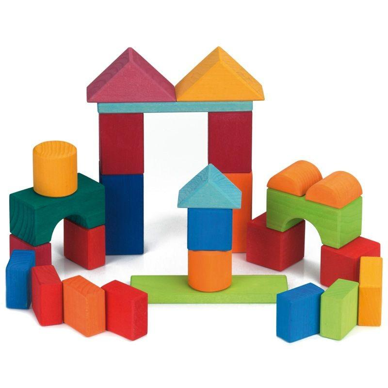 Gluckskafer 27 Piece Building Blocks