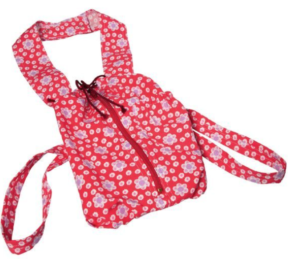 Gluckskafer Baby Doll Carrier - Red