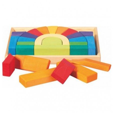 Gluckskafer Bridge Construction Block Set