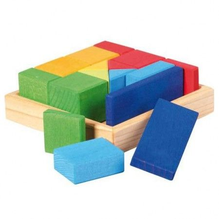 Gluckskafer Quadrat Mixed Shapes Construction Kit