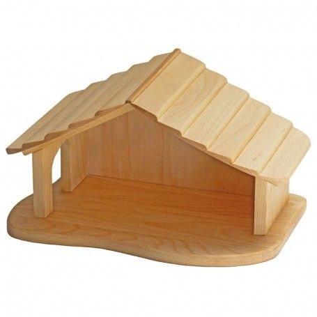 Gluckskafer Wooden Farm & Nativity Stable