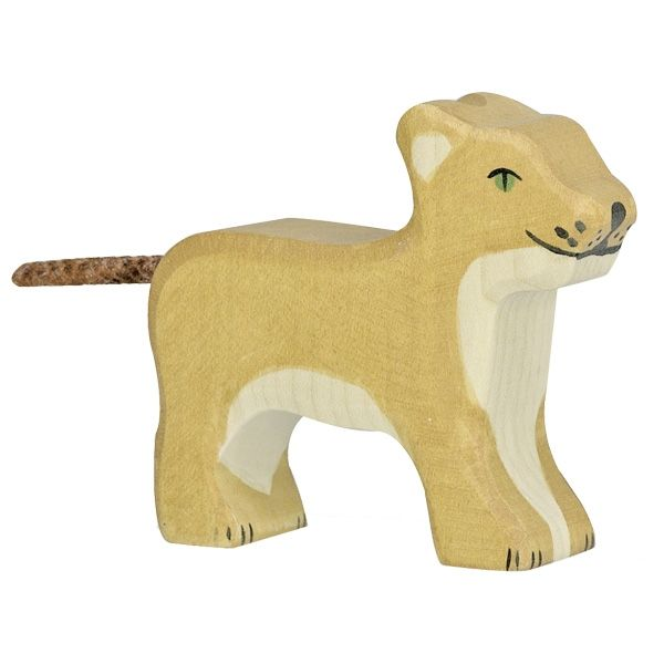 Holztiger Small Standing Lion