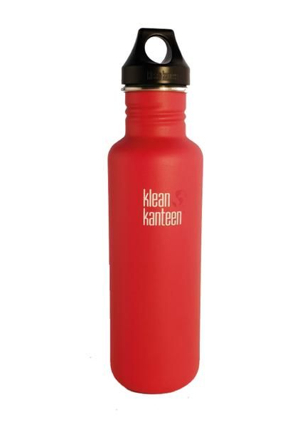 Klean Kanteen Classic Loop Cap 27oz/800ml Bottle - Post Box Red