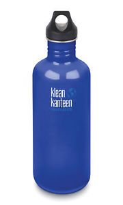 Klean Kanteen Classic Loop Cap 40oz/1182ml Bottle - Coastal Water