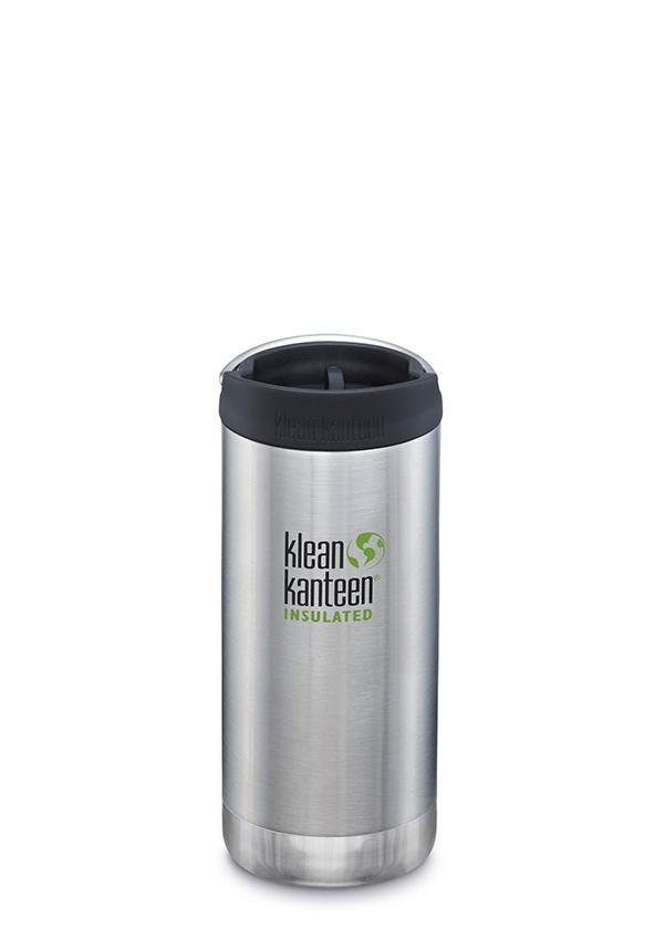 Klean Kanteen Insulated TKWide 12oz/355ml - Brushed Stainless