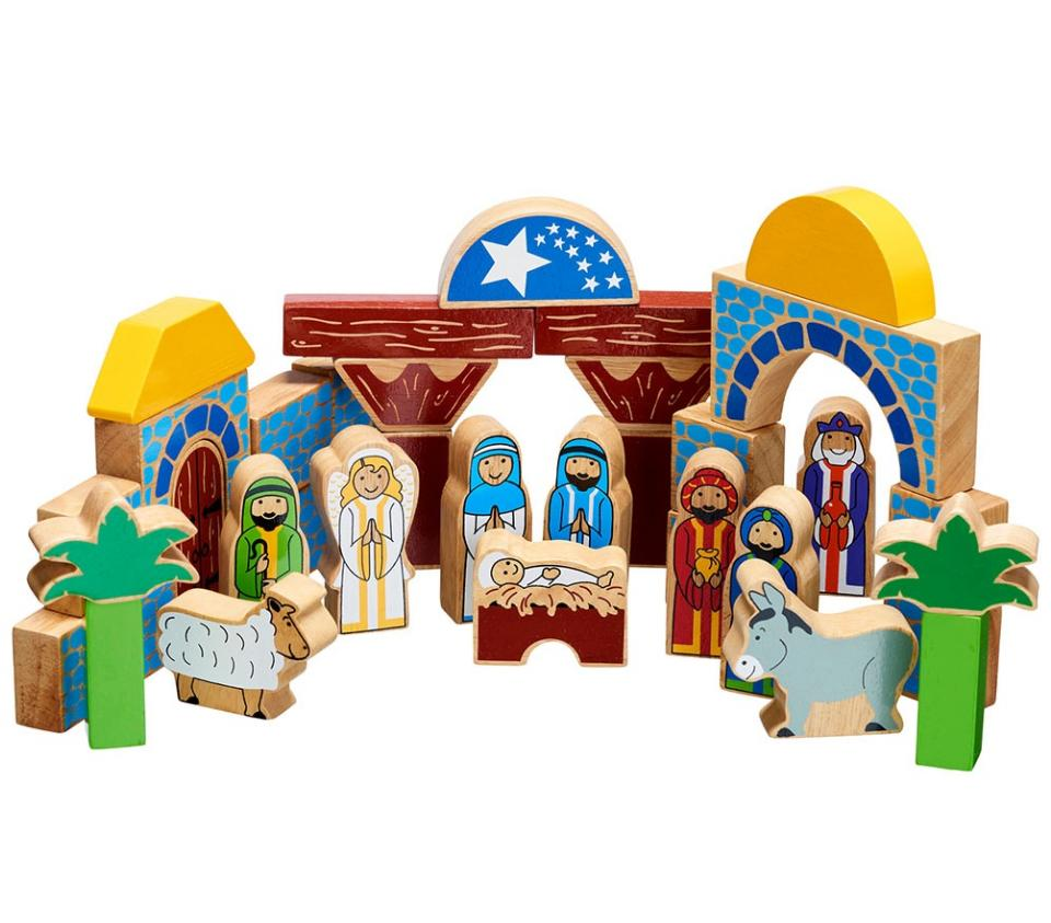 Lanka Kade Nativity Building Block Set
