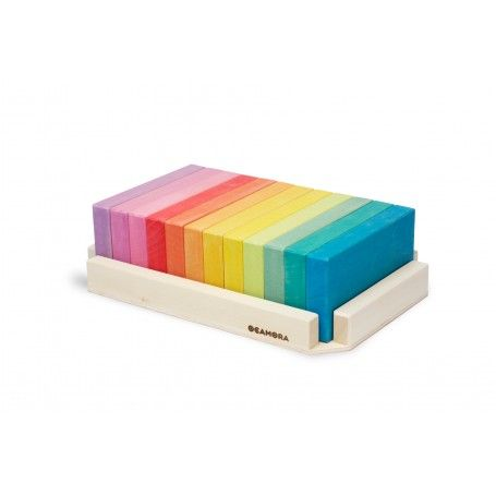 Ocamora 'Tablitas Grandes' Rainbow Building  Blocks