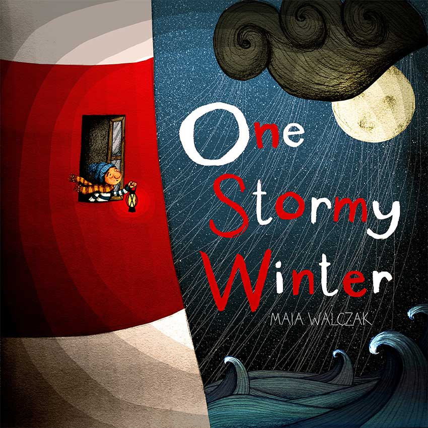 One Stormy Winter illustrated Children's Book