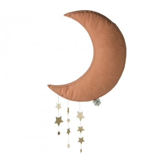 Picca LouLou Hanging Moon With Stars - Pink
